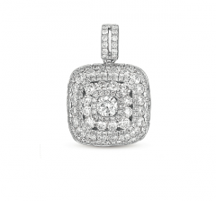 P3182WG White Gold Diamond Pendant