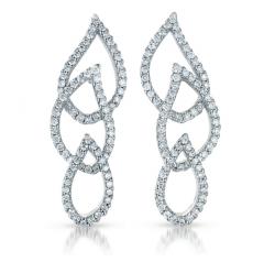 E7785WG White Gold Diamond Earring