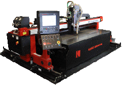 CNC Plasma/Oxy-Fuel Metal Cutting Machine-