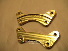 WHOA-BRAKES S1 Brackets (Fiat X19 Scorpion Yugo
