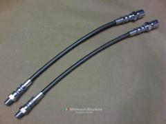 Braided Stainless Brake Lines SET 2x WHOA-Brakes