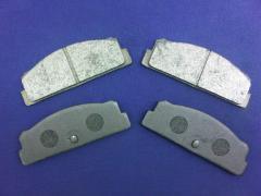Brake Pad Set - Rear Semi-Metallic (Fiat 124, X19,