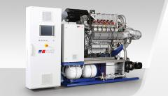 Gas generator sets, 60 Hz, continuous, from biogas
