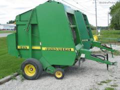 1997 John Deere 566 - Hay Equipment - Round Balers