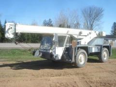 1989 Koehring LRT 110 wheel crane