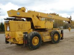 1978 Grove RT59S wheel crane