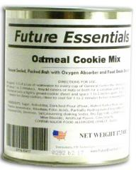 Future Essentials Canned Dry Oatmeal Cookie Mix