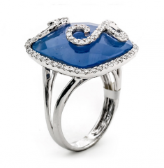 LQ14011L  Pink Diamond Ring
