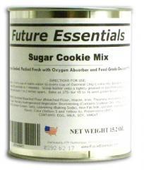 1 Can of Future Essentials Sugar Cookie Mix