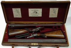 18462 Cased And Matched Pair Of English