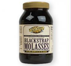 One (1) quart of pure, natural Molasses, 32 Fl Oz.
