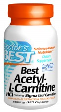Best Acetyl-L-Carnitine (588mg) 120C