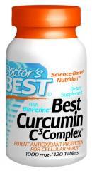 Best Curcumin C3 Complex w/BioPerine® (1000mg)