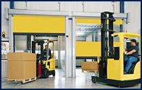 Industrial High Speed Roll Up Doors