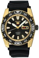 Seiko SRP170 Mens Watch Gold Tone Stainless Steel