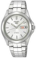 Seiko SNKK87 Mens Watch Seiko 5 Automatic Silver