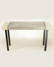 Medium Grey-Marble with Delicate Branch Console