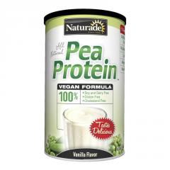 Naturade Pea Protein - Vanilla - 15.66 oz