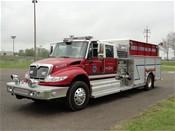 2011 International 4400 4 door, 1250 CS Waterous