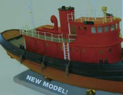 Classic New York Harbor 85' diesel tug
