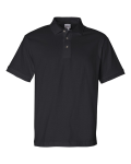 Black Cotton Jersey Sport Shirt