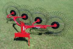 Lift Wheel Rakes