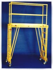 Adjustable Work Platform Tele-Tower Model# 1101