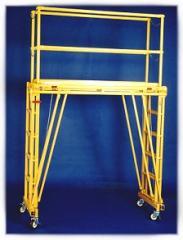 Adjustable Work Platform Tele-Tower Model# 1101