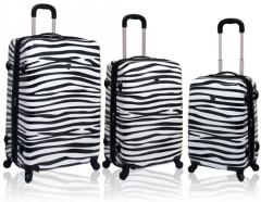 3 - Pc Expandable Abs Luggage Set