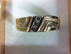 GTS RG 3DIAS .21CTW 14KYG 8G Ring