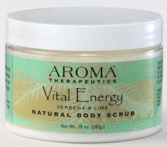 Vital Energy Aromatherapy Body Scrub