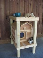 """17"""" Cat House with Platform and Loft"""