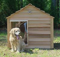 Large Cedar Dog House