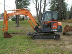 2005 Doosan SOLAR 55V Mini-Excavator