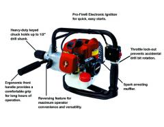 Echo EDR-260 Engine Drill