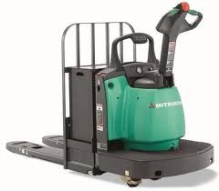 6,000 lb. Capacity Electric Walkie End-Rider
