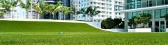 Artificial Grass in Unordinary Spaces