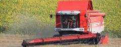 Massey Ferguson's Combine Harvesters