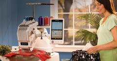 6-Needle Home Embroidery Machine