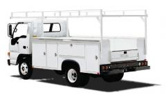 11-Foot Utility Service Body Truck on W-4 Chassis