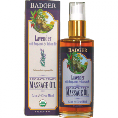 Lavender Aromatherapy Massage Oil