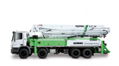 Truck-Mounted Concrete Pump with 5-Section Placing