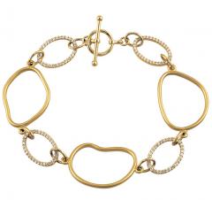 Open Silhouette Bracelet