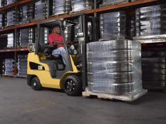 3,000-6,500 lb Capacity LP Gas Cushion Tire Lift