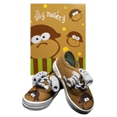 Monkey Toes Tennis Shoes for Boys