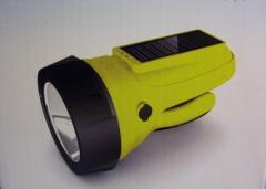 Solar Hybrid Spotlight