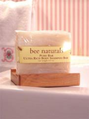 Bee Naturals Ultra Rich Pure Shampoo Body Bar