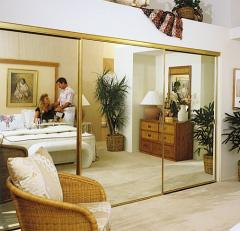 Custom Closet Mirrored Doors Asprey