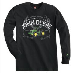 John Deere NRLD Longsleeve - Black