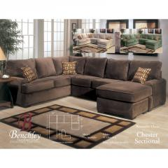 Chester 2pc Sectional by Benchley
